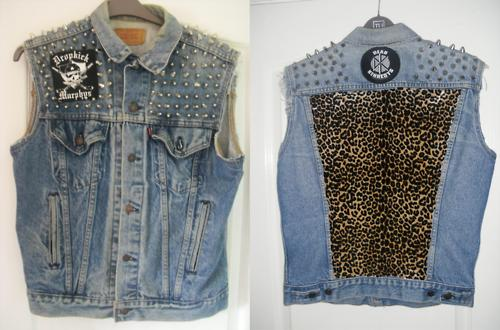 Jean Jacket With Spikes - My Jacket