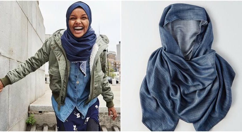 American Eagle Now Selling Denim Hijab