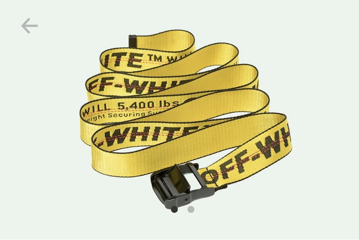 Off-White Industrial Belt Now Available in Additional Colors