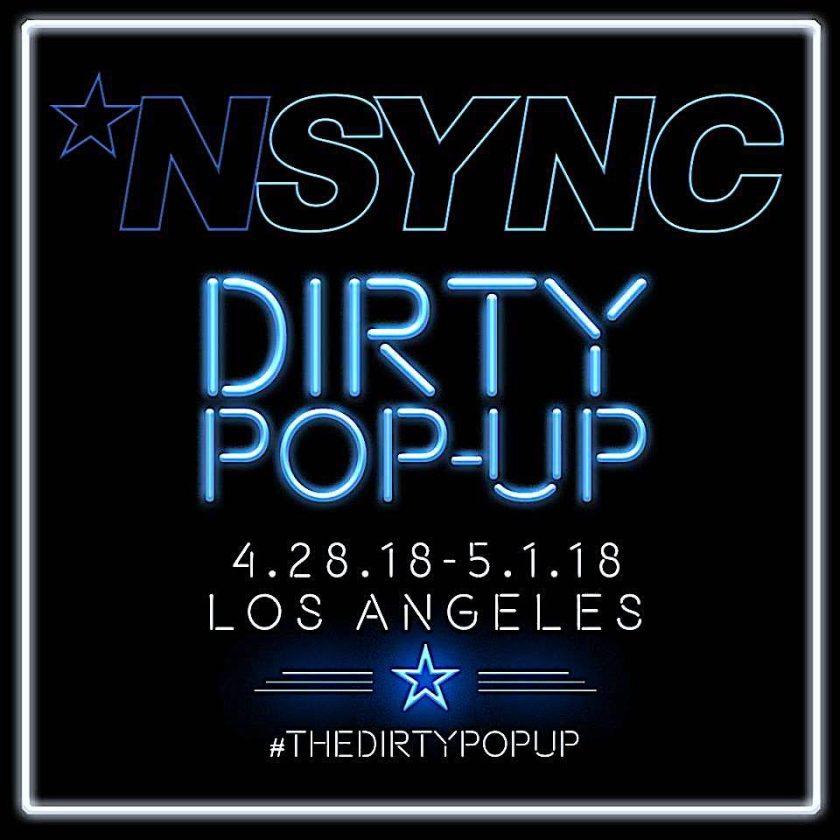 nsync pop up