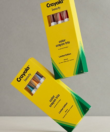 Crayola Launches Beauty Line With Online Retailer ASOS