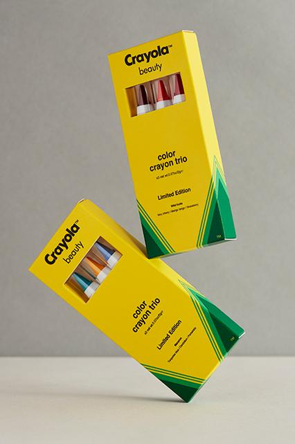 crayon trio
